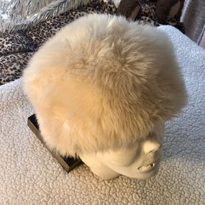 Made in Italy Adorable Faux Fur Hat